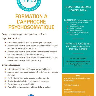 Flyer formation psychosomatique page 2